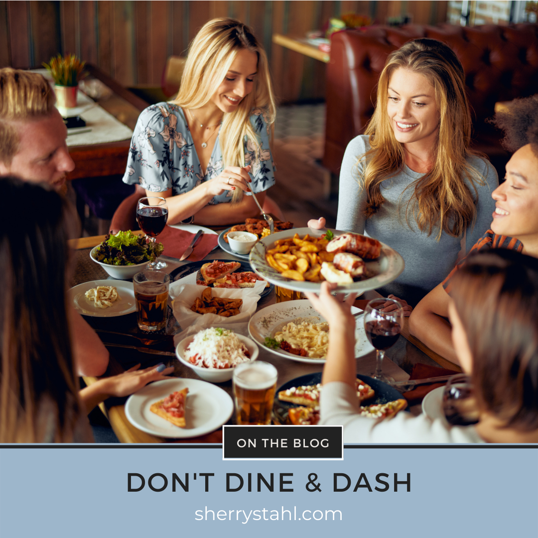 dont dine and dash