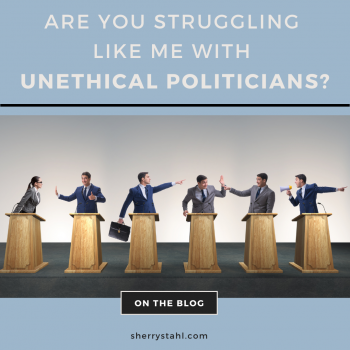 unethical politicians
