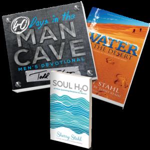 trio books_WITD_SOULH2O_MAN_CAVE