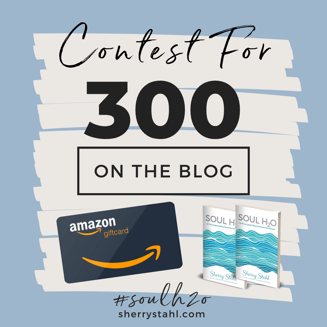 Contest For 300 On The Blog