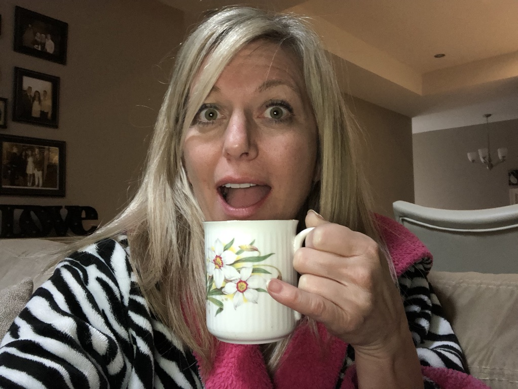 Sherry drinking royal tea blend