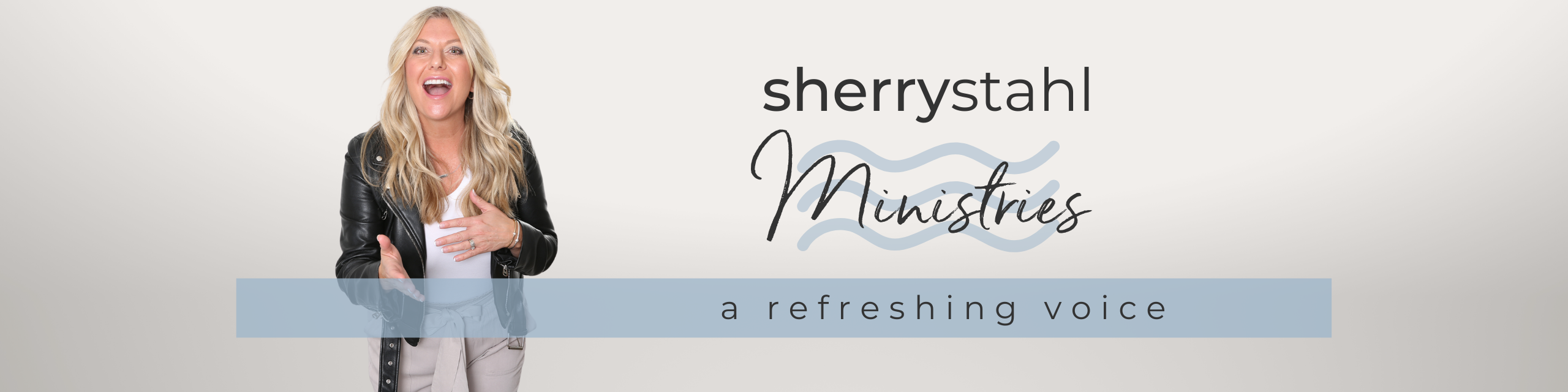 sherry stahl Ministries Header