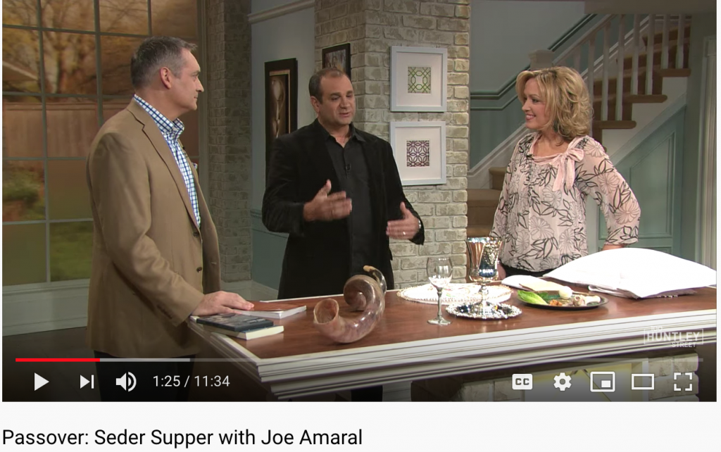 Joe amaral on 100 huntley street