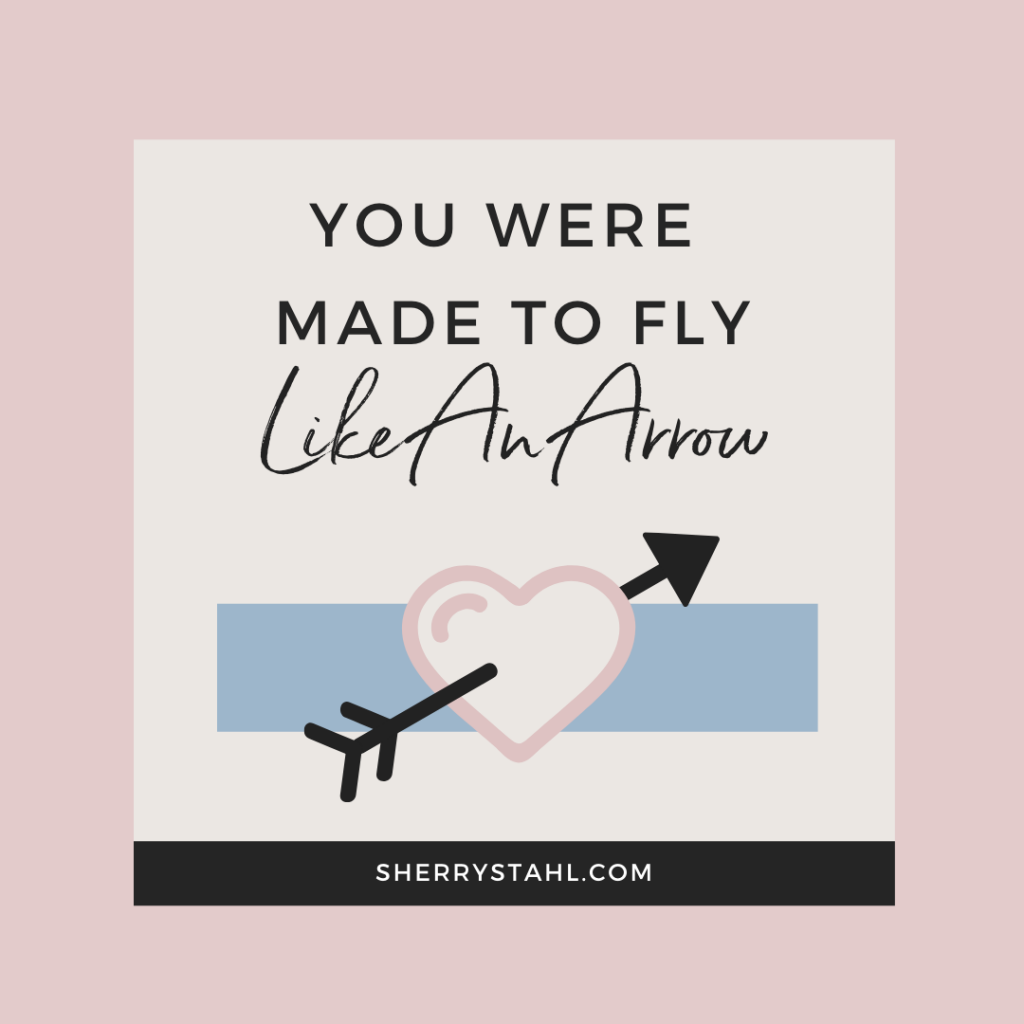 Speaking Topic Images 1080x1080 You Were Made To Fly Like An Arrow