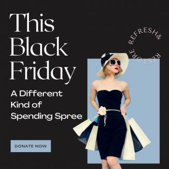 Black Friday spending spree
