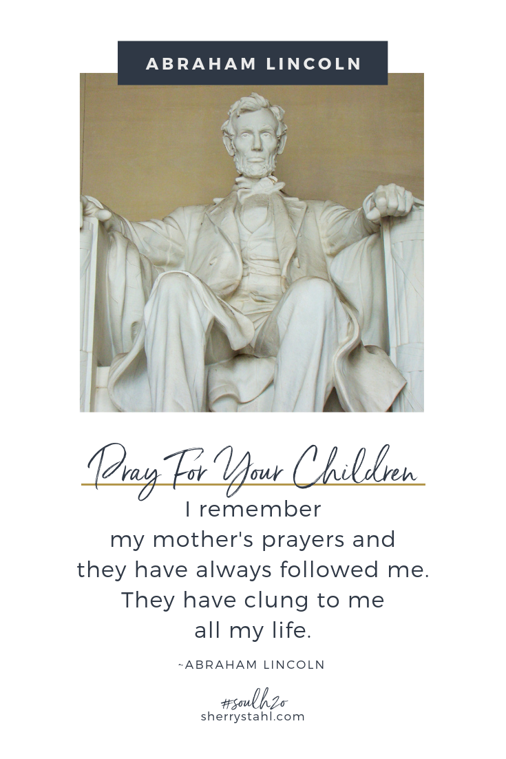 abraham lincoln prayer