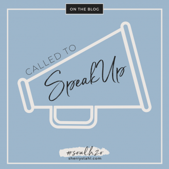 called to speak up